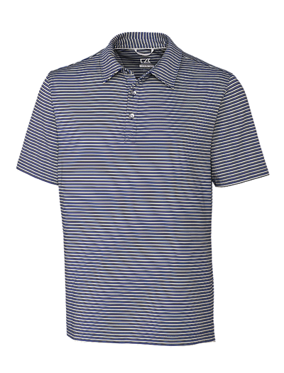 Cutter & Buck Men's Division Stripe Polo