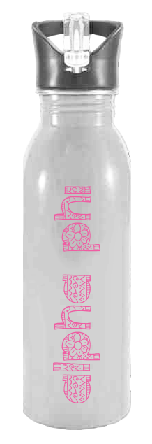 Alpha Phi Floral Waterbottle