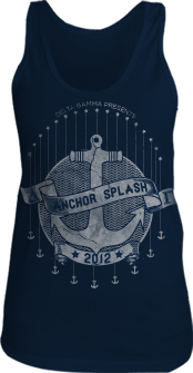 Delta Gamma Wave Anchor Splash