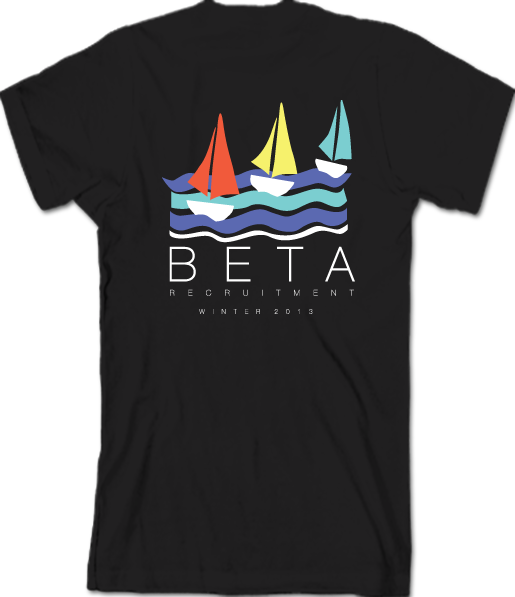 Beta Theta Pi Sailboat Winter Rush