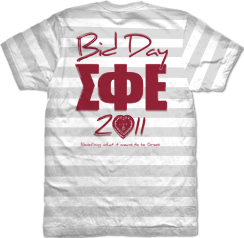 Sigma Phi Epsilon Stripe Bid Day