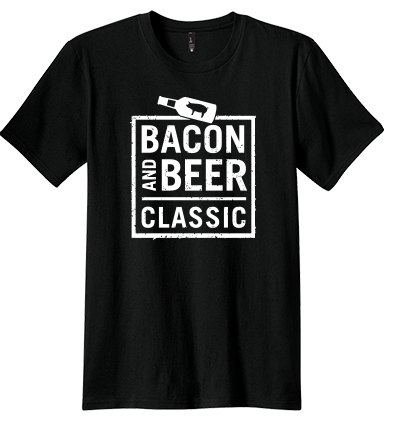 Bacon & Beer Classic 2014 Black Shirt