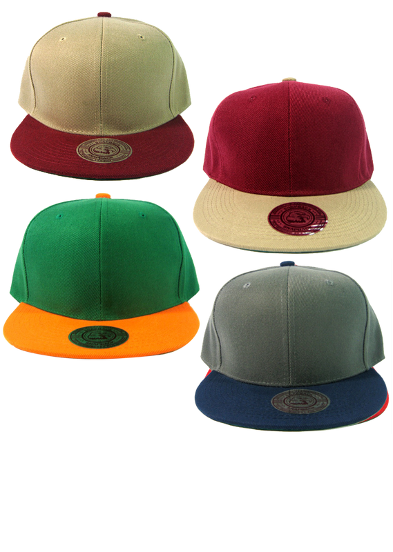 Color Two-Tone Snapback