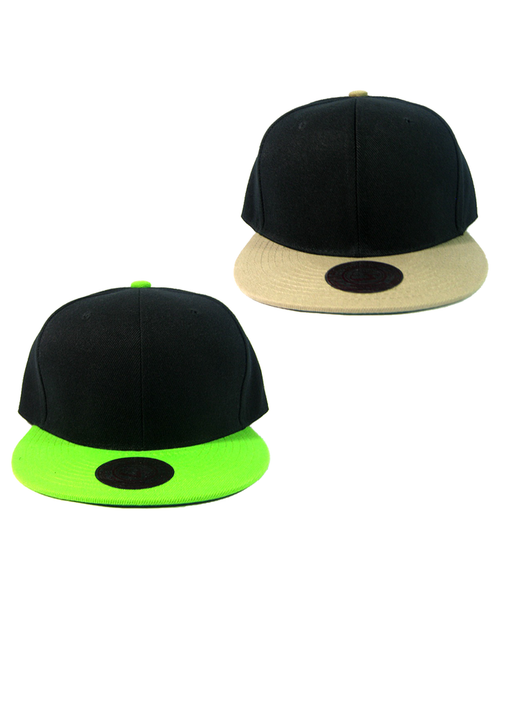 Black Cap Snapbacks