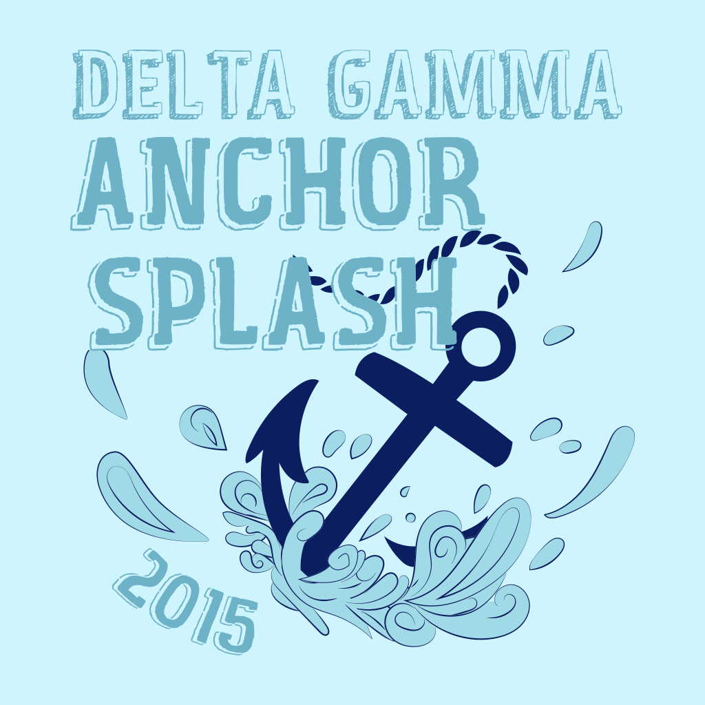 Delta Gamma Anchor Splash Philanthroopy