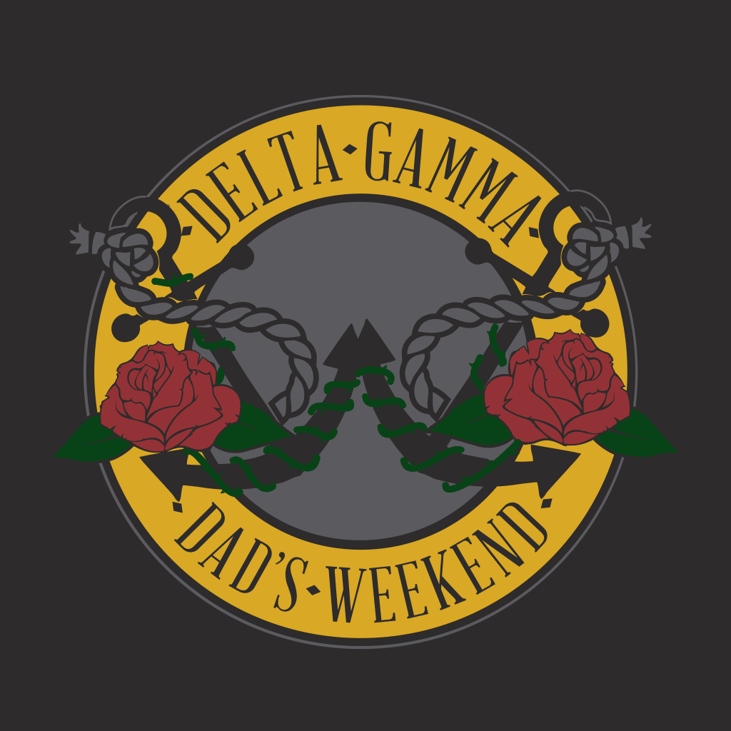 Delta Gamma Anchors and Roses Dad's Weekened