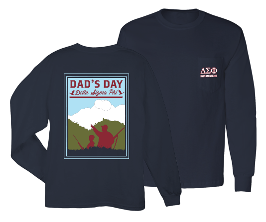 Delta Sigma Phi Duck Hunting Dad's Day