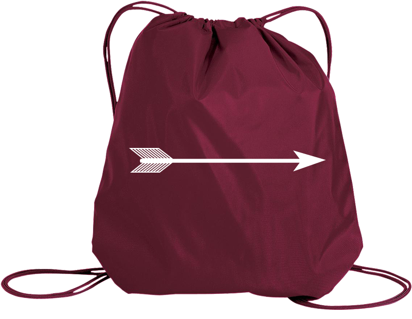 Pi Beta Phi Arrow Drawstring