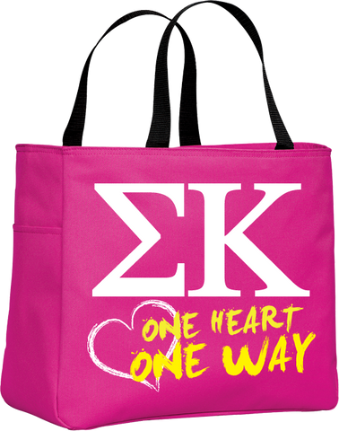 Sigma Kappa One Heart One Way Tote