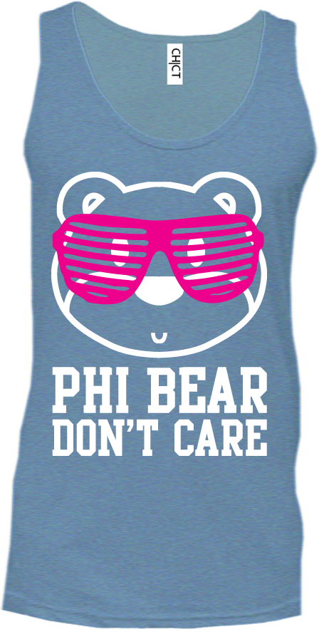 Alpha Phi Bear Don't Care