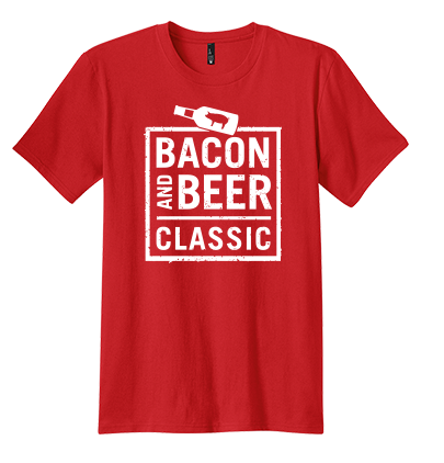 Bacon & Beer Classic 2014 Red Shirt