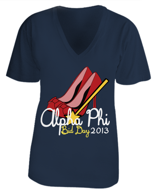 Alpha Phi Ruby Slippers Bid Day
