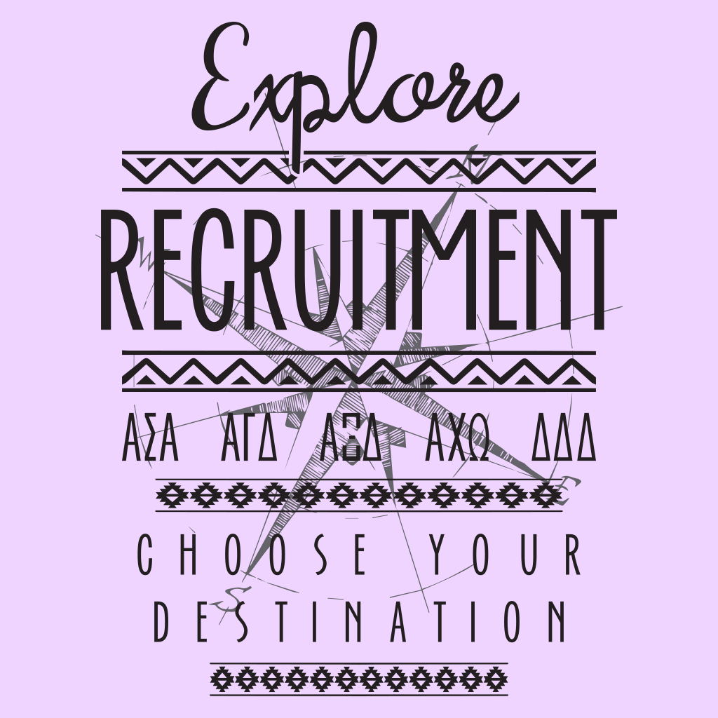 Panhellenic Explore Recruitment
