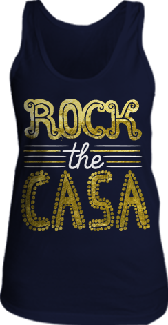 Kappa Kappa Gamma Foil Rock the Casa