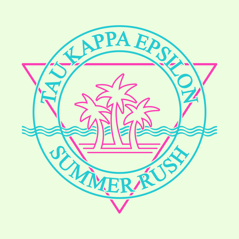 Tau Kappa Epsilon Summer Rush Design