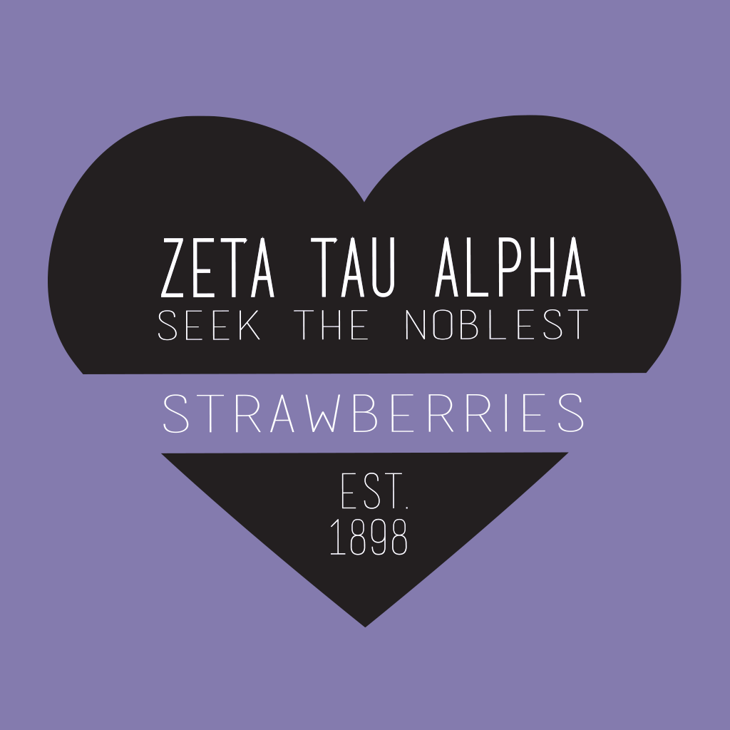 Zeta Tau Alpha Strawberries Sisterhood