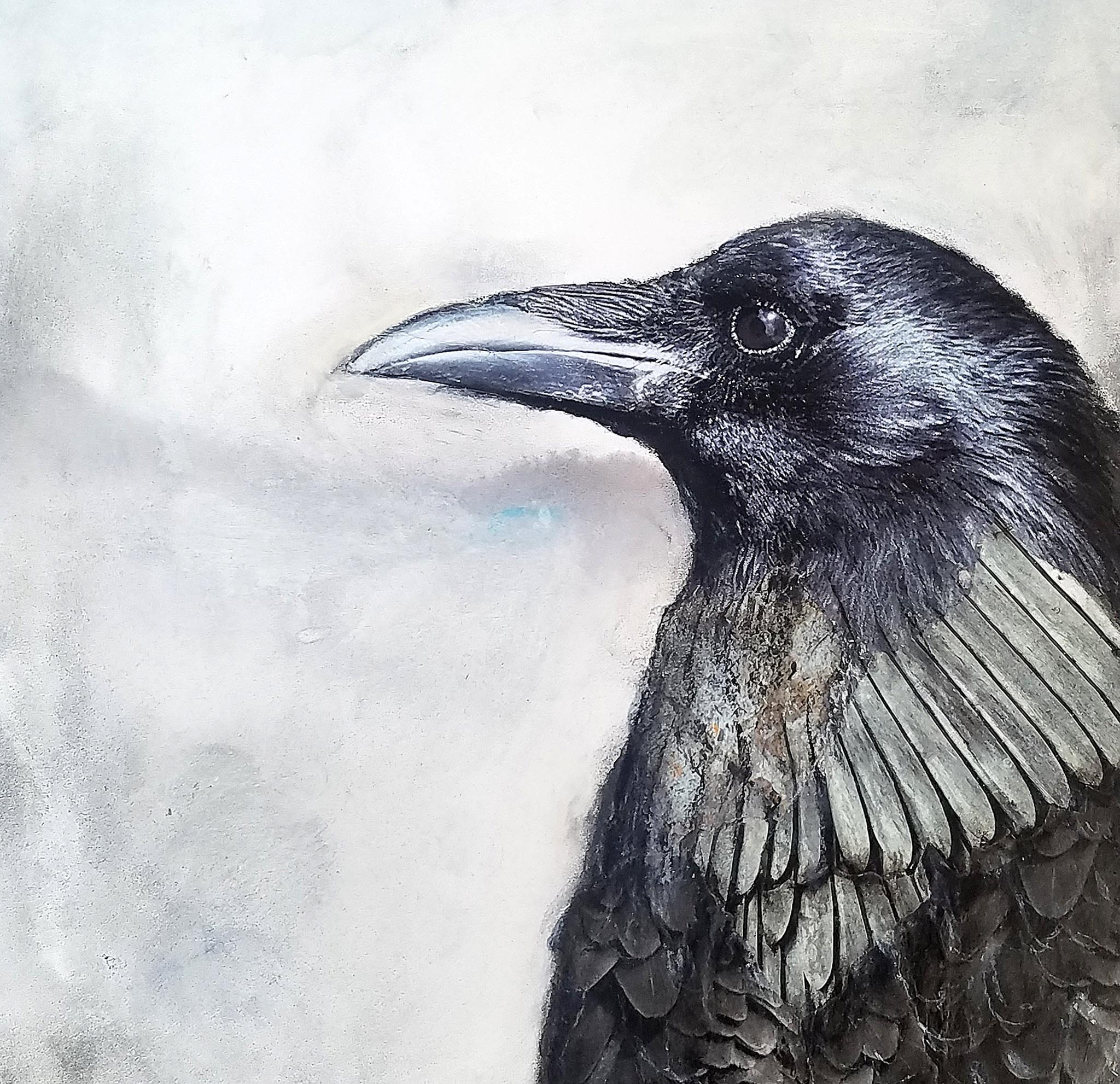 Calling Crows No. 7 by Teri Homick