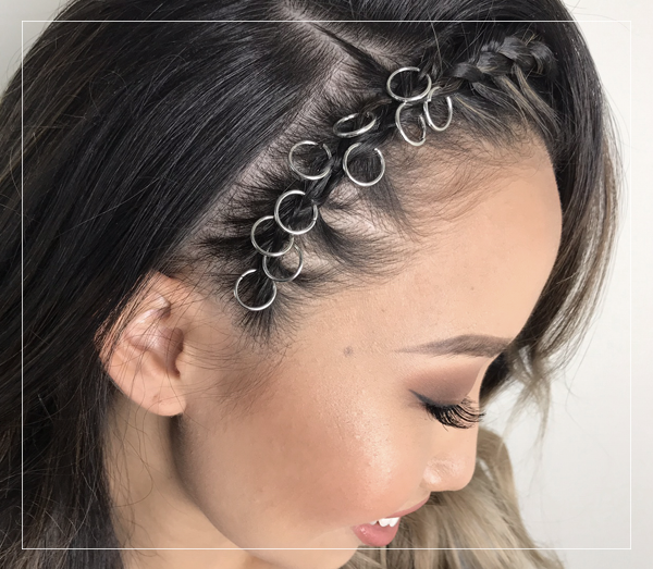 KEA HAIR RINGS | Hair Rings For Braids | OMORFIE Hair Accessories