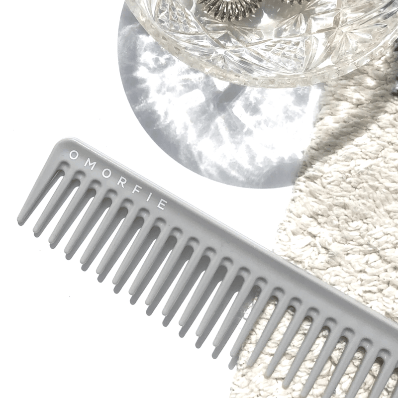 The Beach Comb | Wide Tooth Comb | Wet Hair Comb | OMORFIE