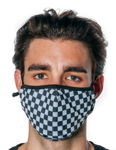 Premium Protective Fabric Face Covering Mask: Indy