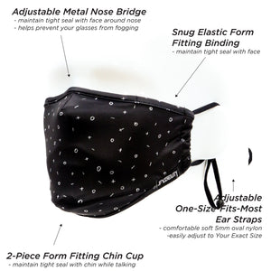 Premium Protective Fabric Face Cover- Playbook