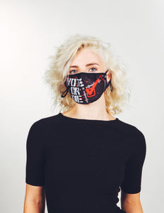 Premium Fabric Face Covering Mask | VOTE or DIE!