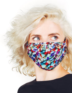 Premium Fabric Face Covering Mask | LIL' PILLS