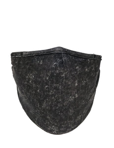 Premium Fabric Face Covering Mask | BLACK ACID