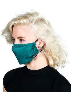 Premium Fabric Face Covering Mask | GREEN ACID