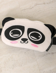 FYDELITY- Ultra-Slim Fanny Pack: ANIME-L PAUNCH PANDA