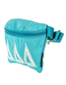 Ultra-Slim Fanny Pack: GREEK Sorority Licensed Delta Delta Delta Teal