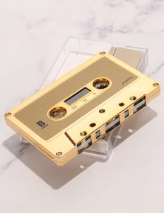 FYDELITY- IMIXID/FYDELITY Blank Audio Cassette Tapes GOLD CHROME (10pcs bricks)
