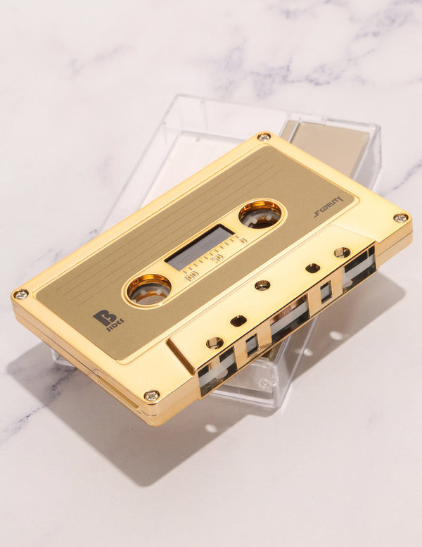 FYDELITY- IMIXID/FYDELITY Blank Audio Cassette Tapes GOLD CHROME (10pcs bricks) - Fydelity