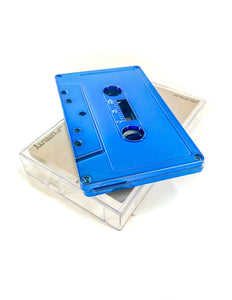 FYDELITY Blank Cassette Mixed Tape C-60 Audio 60-Min 10 Pack: Blue Chrome