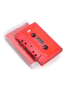 FYDELITY Blank Cassette Mixed Tape C-60 Audio 60-Min 10 Pack: Red Chrome