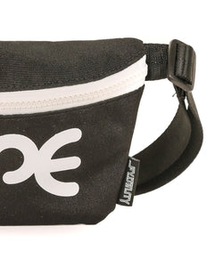 FYDELITY- Ultra-Slim Fanny Pack: WERDS Dope |Black & White