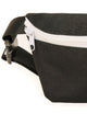 FYDELITY- Ultra-Slim Fanny Pack: WERDS Lit |Black & White