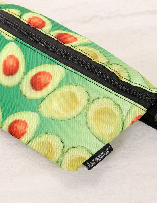 83068: Ultra-Slim Fanny Pack: Avocado