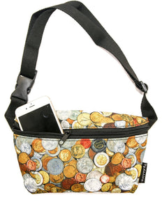 FYDELITY- NC17 Fanny Pack: Gold Coins