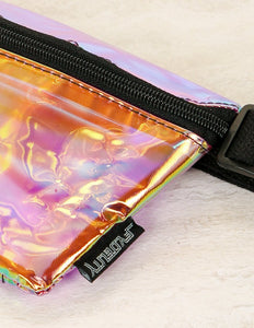FYDELITY- Ultra-Slim Fanny Pack: INTERPLANETARY Plasma Storm