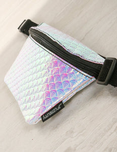 FYDELITY- Ultra-Slim Fanny Pack: MYSTICAL Mermaid Shells
