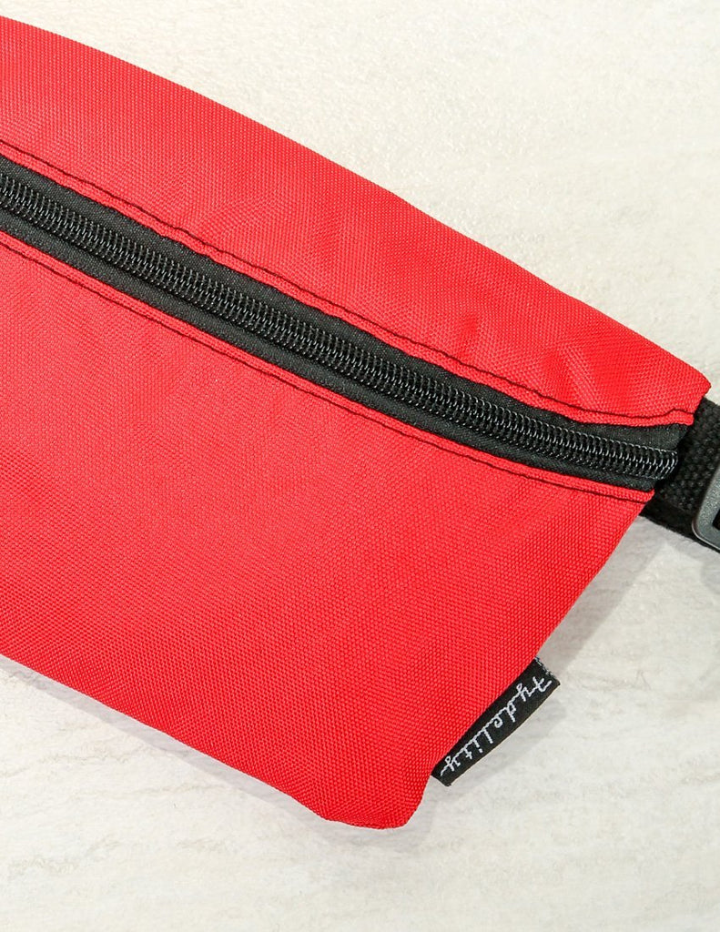 FYDELITY- Game Day Fanny Pack: Red & Black