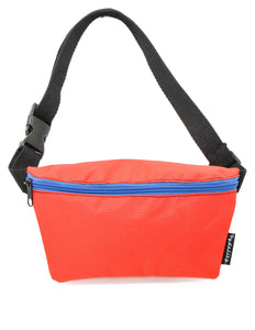 FYDELITY- Ultra-Slim Fanny Pack: GAME DAY Red & Blue