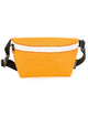 FYDELITY- Ultra-Slim Fanny Pack: GAME DAY Orange & White