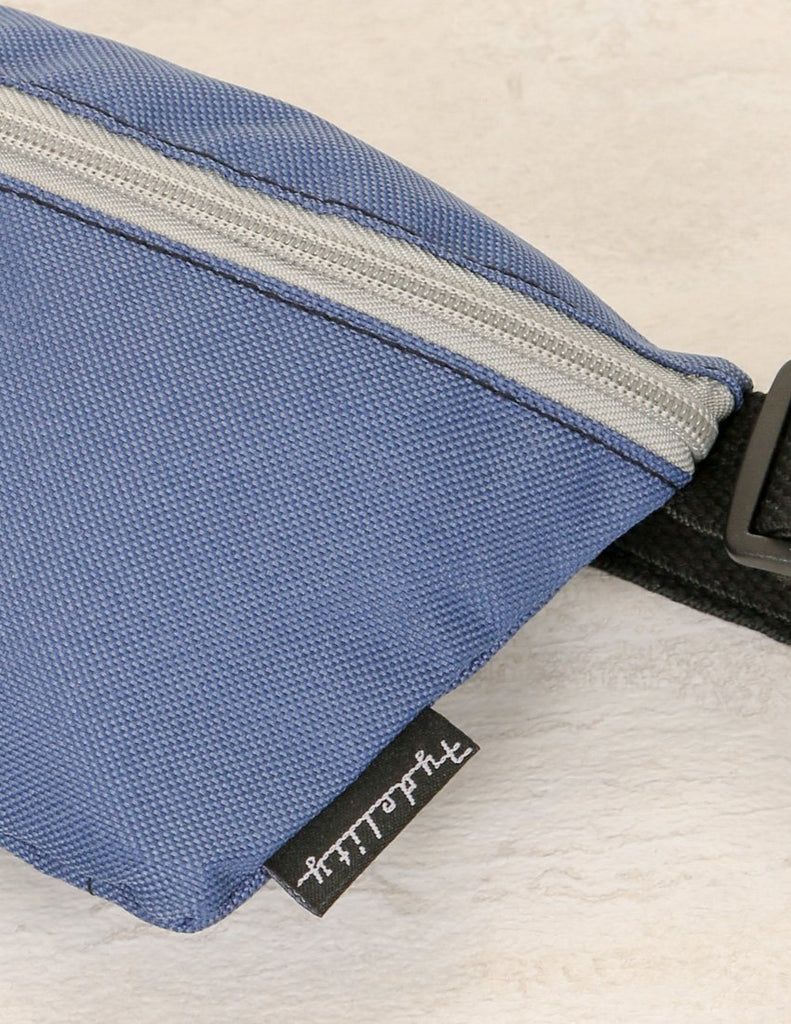 83288: Ultra-Slim Fanny Pack: GAME DAY Blue & Grey