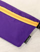 FYDELITY- Ultra-Slim Fanny Pack: GAME DAY Purple & Gold