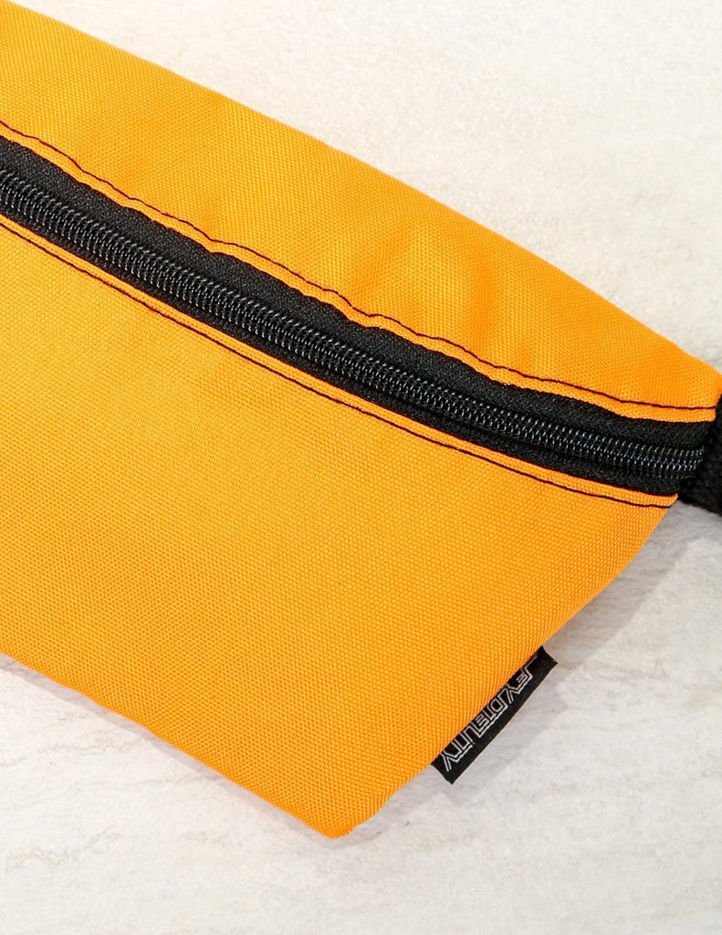 83292: Ultra-Slim Fanny Pack: GAME DAY Orange & Black