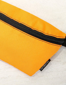FYDELITY- Ultra-Slim Fanny Pack: GAME DAY Orange & Black