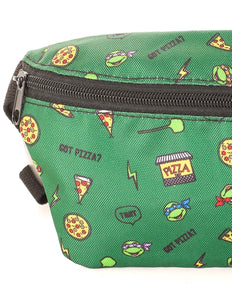 FYDELITY- Ultra-Slim Fanny Pack: NICK TMNT Pizza