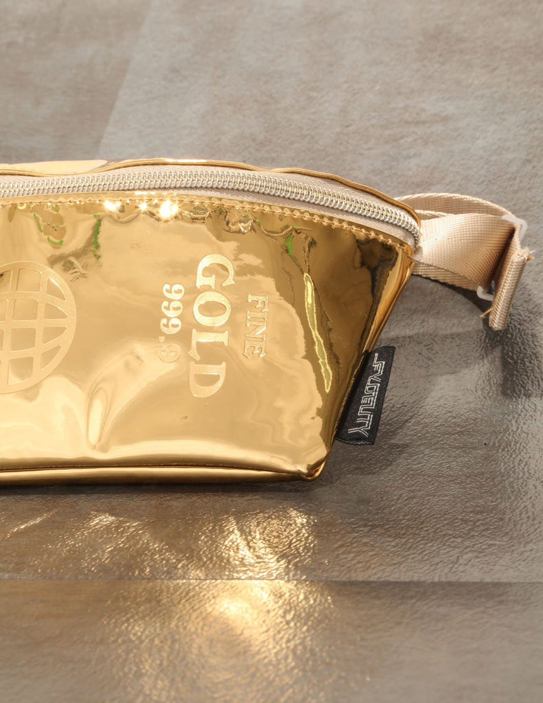 FYDELITY- Ultra-Slim Fanny Pack: LUX 999.9 Bullion